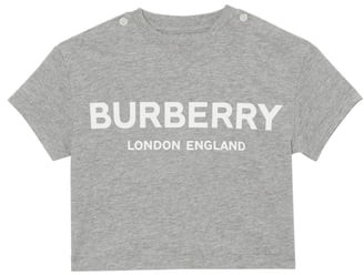 Burberry Mini Robbie Logo T-Shirt