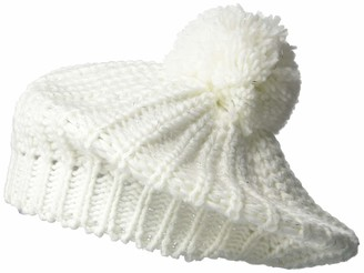 Steve Madden Women's Knit Beret with Pom