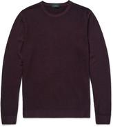 Incotex - Waffle-knit Wool Sweater