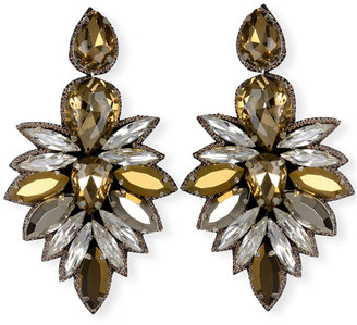 Suzanna Dai Cuzco Crystal Drop Earrings