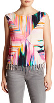 Plenty by Tracy Reese Sleeveless Tassel Blouse