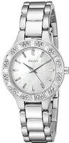 DKNY Women's NY8485 CHAMBERS Silver Watch