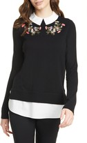 Ted Baker Natiley Highland Mock 2-Piece Sweater