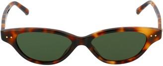 Linda Farrow Alessandra Cat Eye Frame Sunglasses