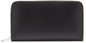 Ami Leather Continental Wallet - Black