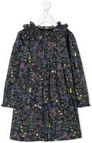 Bonpoint pleated floral print dress