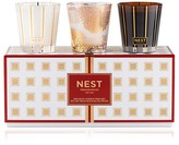 NEST Fragrances Holiday Candle Trio Set