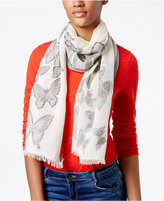 INC International Concepts Butterfly Oblong Scarf, Created for Macy's