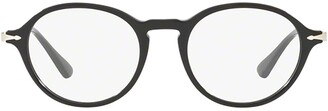 Persol Calligrapher Round Frame Glasses