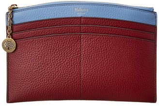 Mulberry Curved Traveler Leather Card Holder