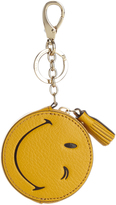 Anya Hindmarch Wink grained-leather coin purse