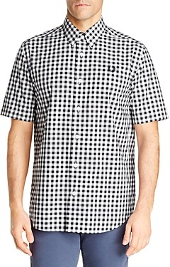 Fred Perry Cotton Gingham Slim Fit Shirt