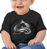 ZSHIWENH Colorado Avalanche Platinum Logo Unisex Baby T Shirt