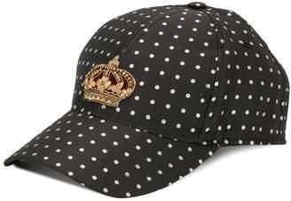 Dolce & Gabbana crown patch baseball cap