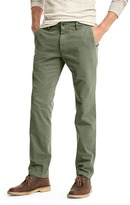 Gap Vintage washed slim fit khakis
