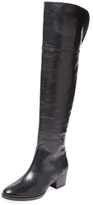 Frye Clara Leather Over The Knee Boot