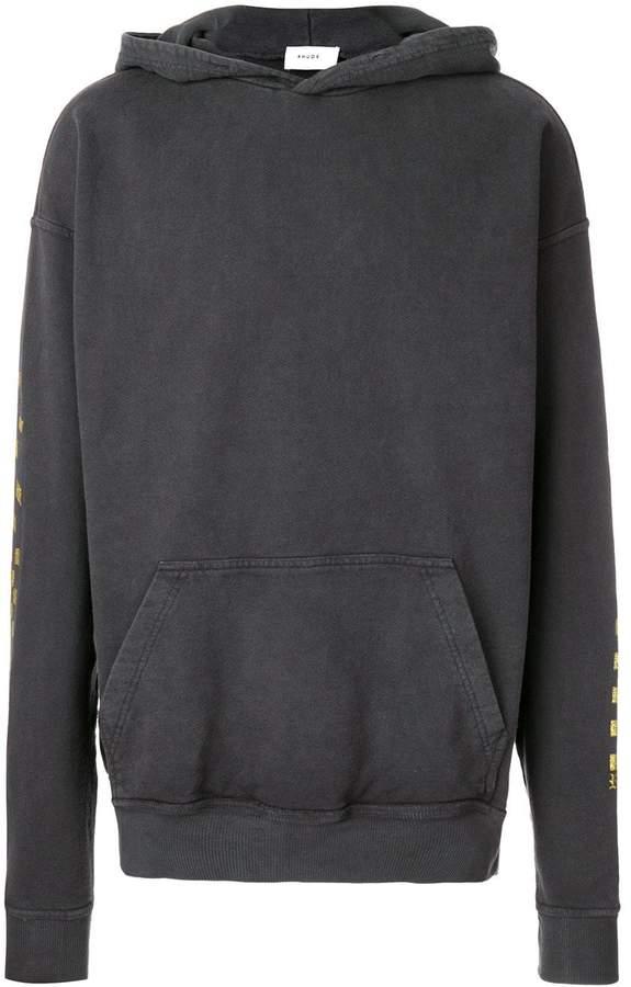 Rhude printed hoodie