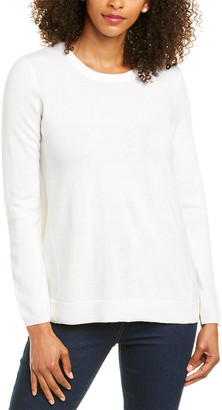 Tyler Boe Bow Back Cashmere Sweater