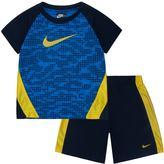 Nike Boys 4-7 Raglan Tee & Mesh Shorts Set