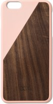 Native Union Pink Clic Wooden Iphone6+ Case Walnut