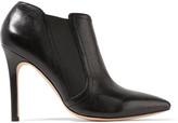 Halston Wendy leather ankle boots