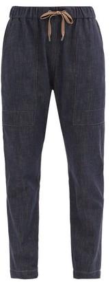 Brunello Cucinelli Slim-leg Denim Trousers - Indigo