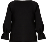 Osman Perfect 5 double-faced cotton long-sleeved top