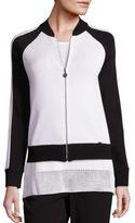St. John Sport Collection Jersey Knit Jacket