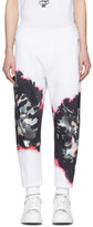 Alexander McQueen White Jogger Lounge Pants