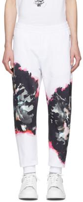 Alexander McQueen White Jogger Lounge Pants