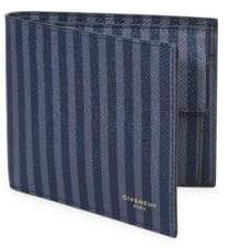 Givenchy Striped Leather Bifold Wallet