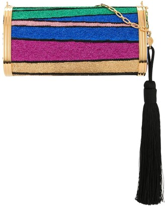 BIENEN-DAVIS Halcyon multi-stripe shoulder bag