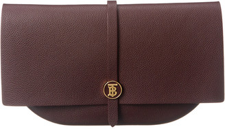 Burberry Anne Leather Clutch