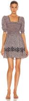Jonathan Simkhai Athena Floral Smocked Dress in Sedona | FWRD