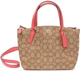 Coach Signature Mini Kelsey Satchel Crossbody