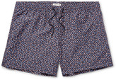 Club Monaco - Arlen Slim-fit Mid-length Floral-print Swim Shorts