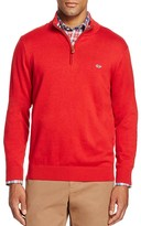 Vineyard Vines Pima Cotton Quarter Zip Sweater