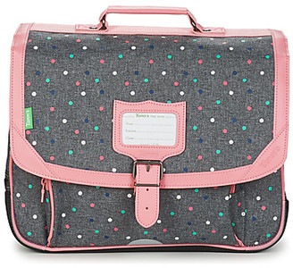 Tann's LOU CARTABLE 38CM girls's Briefcase in Grey