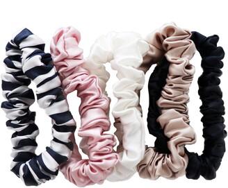 Slip Pure Silk 5-Pack Midi Hair Ties