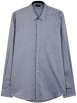 Pal Zileri Grey Cotton Shirt