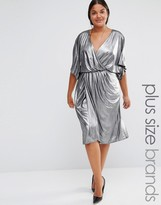 Lovedrobe Wrap Front Dress