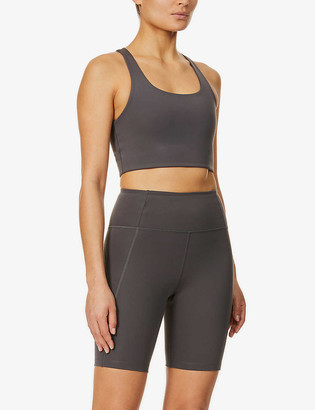 Girlfriend Collective High-rise stretch-jersey cycling shorts