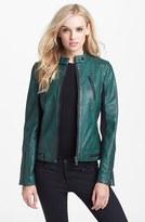 Sam Edelman Faux Leather Moto Jacket (Online Only)