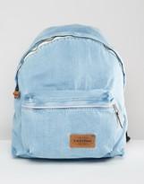 Eastpak Padded Pak R Kuroki Japanese Denim Bleach Wash Backpack