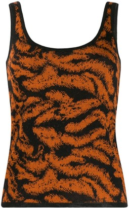Missoni Embroidered Knitted Tank Top