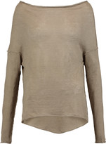 Enza Costa Knitted linen top