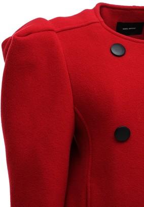 Isabel Marant Fileali Wool Blend Short Coat