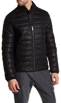 Antony Morato Padded Faux Leather Zip Jacket