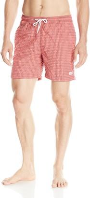 Trunks Men's Premium San O Short Gingham