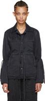 Craig Green Black Silk Workwear Jacket